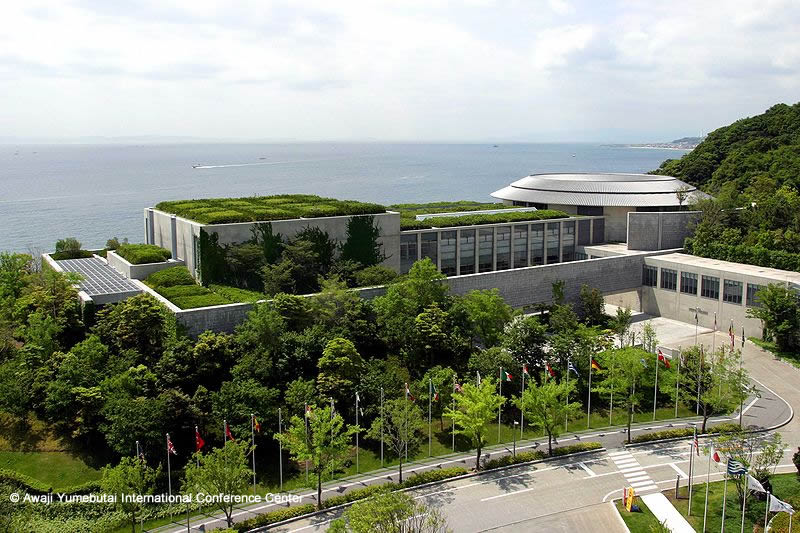 The Awaji Yumebutai International Conference Center